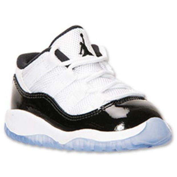 Boys' Toddler Air Jordan Retro 11 Low Basketball Shoes