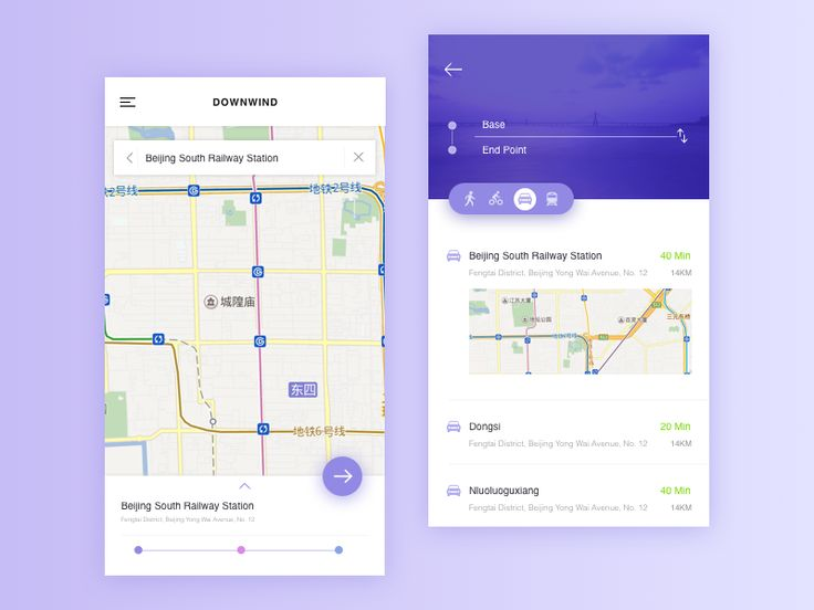 Map App Design by Baoan #Design Popular #Dribbble #shots