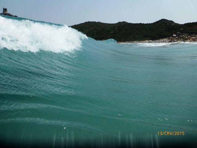 Camper dodávkou po svete: Sardínia Spiaggia di Porto Giunco