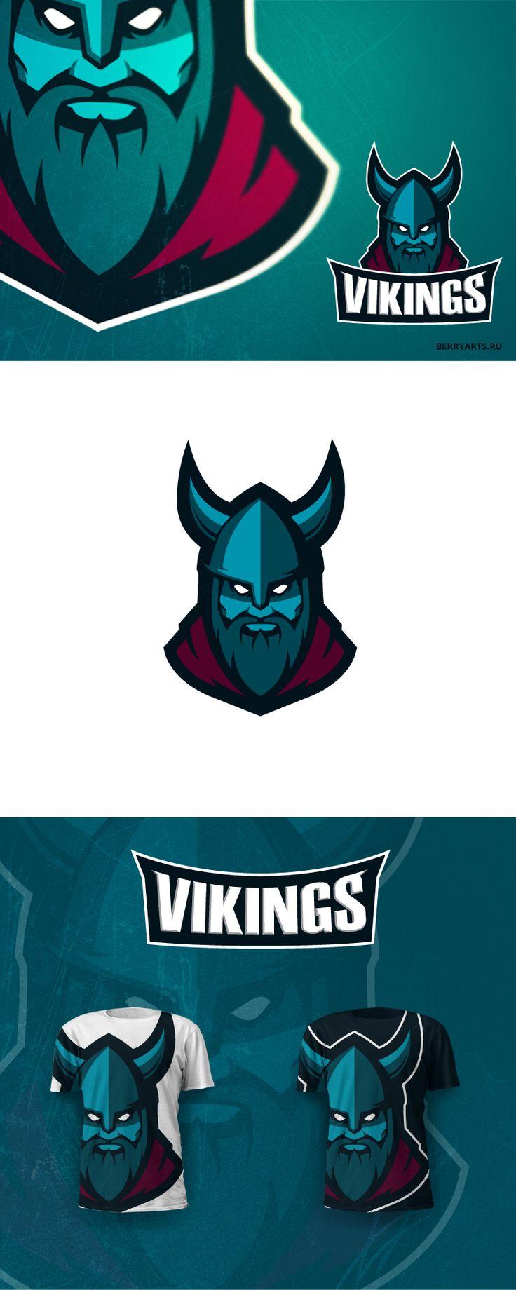 Vikings mascot on Behance