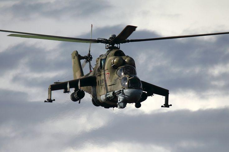 Russian Air Force Mil Mi-24P Dvurekov-4 - Mil Mi-24 - Wikipedia, the free encyclopedia