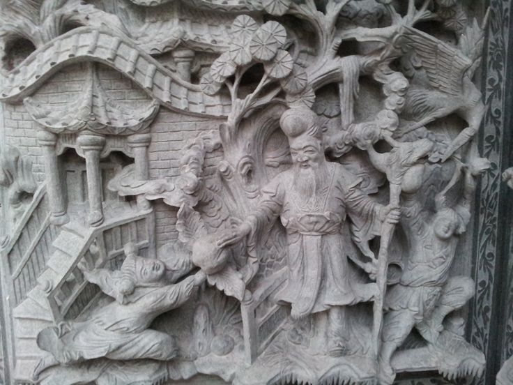 Detail, Chinese temple, Georgetown