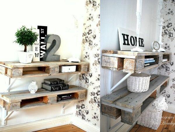 25 beste idee n over houten pallet meubels op pinterest palletmeubilair houten pallet - Shabby chique kamer ...