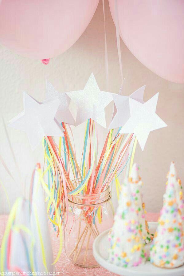 Etoile licorne princesse party
