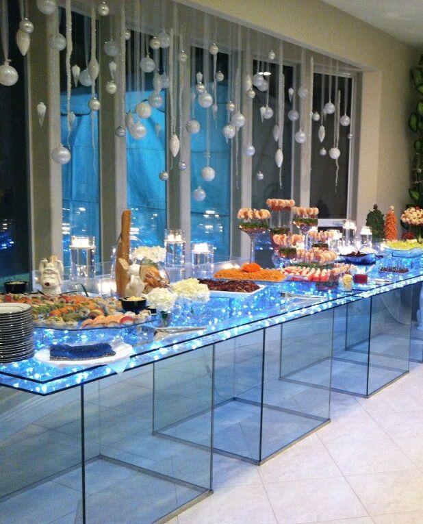 Table Display Ideas littlemissmillie Lighted Acrylic Food Display Tables