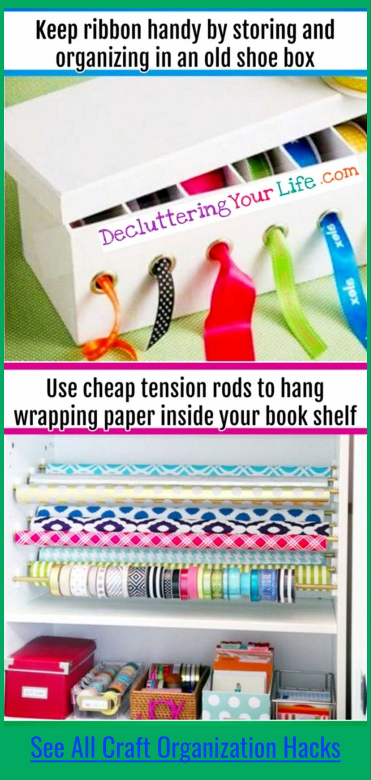 DIY Craftroom Organization – Unexpected & Creative Ways to Organize Your Craft Room on a Budget