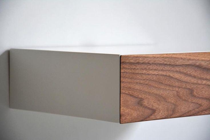 """5 kedvelés, 1 hozzászólás – MyBetterShelf (@mybettershelf) Instagram-hozzászólása: """"Floating drawer with beautiful american walnut drawer www.mybettershelf.com #floating #shelf…"""""""