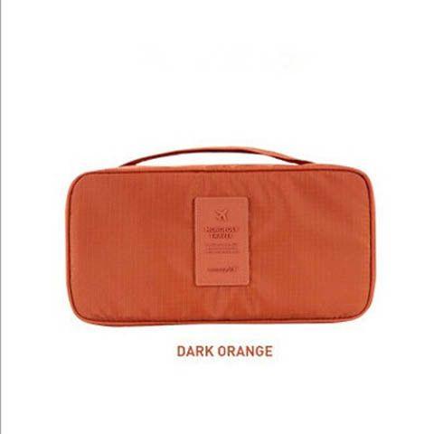 Women Travel Toiletries Bra Underwear Storage Bag