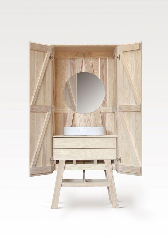 1000 id es sur le th me mobilier italien sur pinterest for Salle de bain xxs