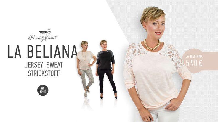 La Beliana Spitzenpullover 34-54 Ebook