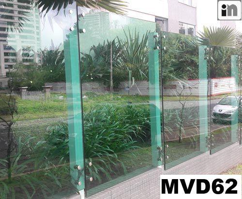 Muro de Vidro - MVD62 - Invicta Metal