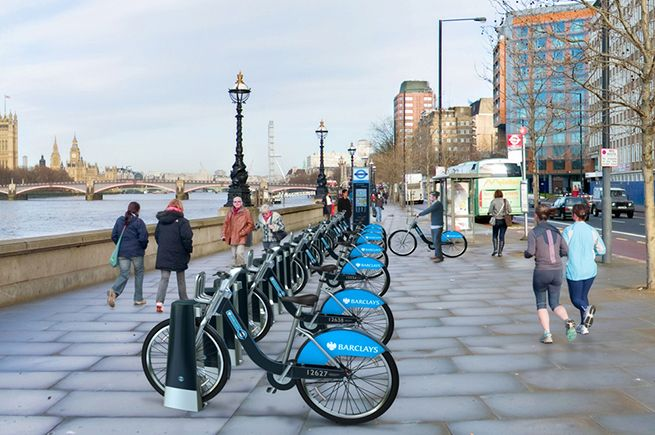 TFL London cycle hire | Minale Tattersfield Design Strategy Group