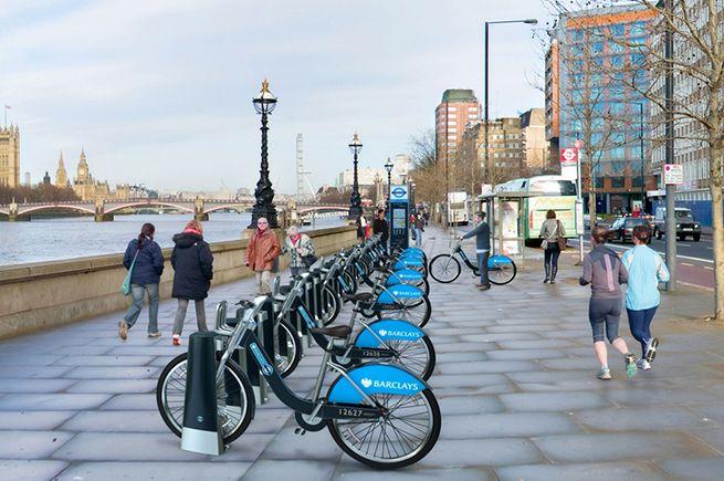 TFL London cycle hire   Minale Tattersfield Design Strategy Group