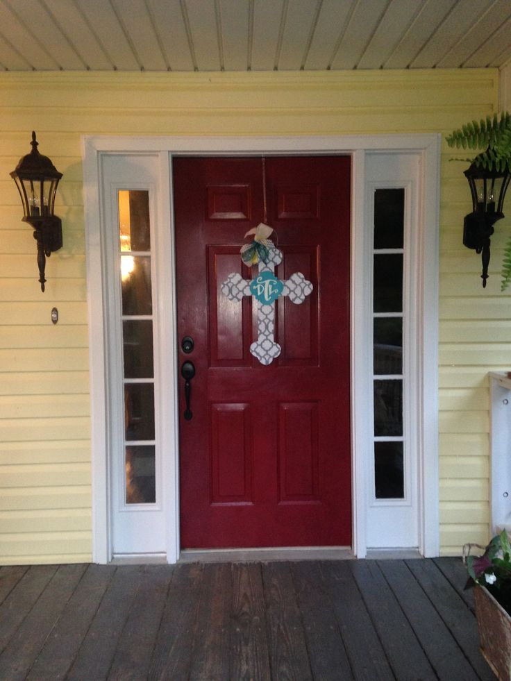 31 best images about front doors on pinterest red front Best red for front door