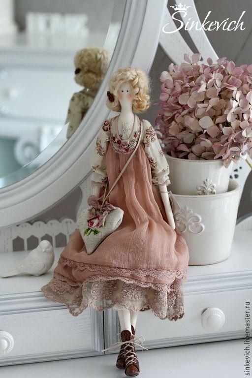 Купить Шерон - тильда, интерьерная кукла, кукла ручной работы, подарок девушке