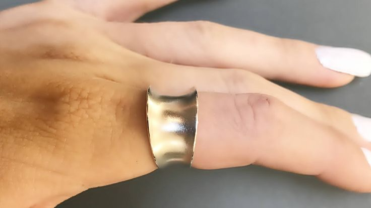 Sterling Silver Wide Band Ring- 12mm with Anticlastic Bend by CopperfoxGemsJewelry on Etsy https://www.etsy.com/listing/524052413/sterling-silver-wide-band-ring-12mm-with