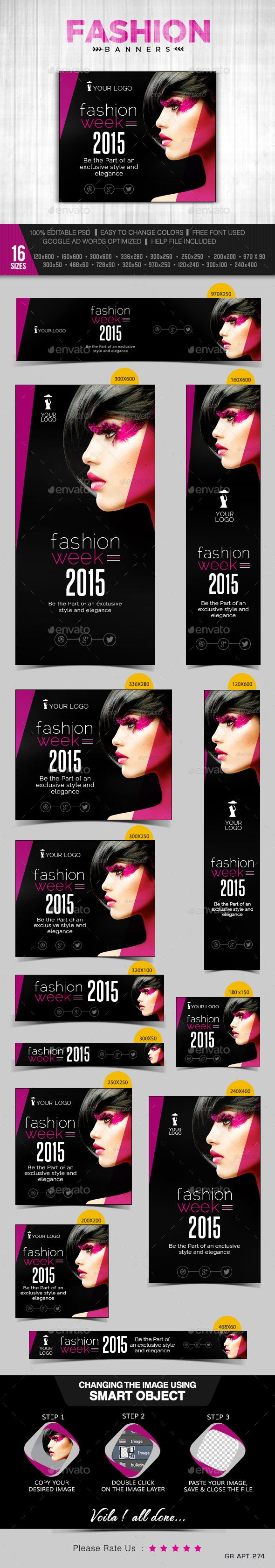 Fashion Banners Template PSD   Buy and Download: http://graphicriver.net/item/fashion-banners/9982691?ref=ksioks