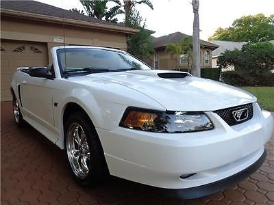 eBay: 2002 Ford Mustang GT Premium/LEATHER POWER SEAT CHROME WHEELS MP3 XM 2002 Ford Mustang GT Premium/LEATHER POWER… #fordmustang #ford