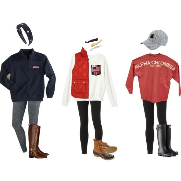 Winter Outfits for School | Preppy outfits
