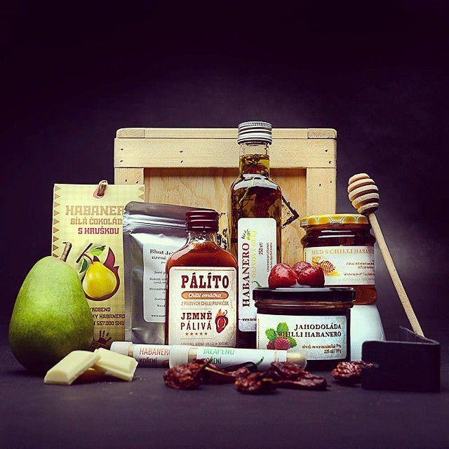 Bedna s CHILLI i pro slabší povahy #chilli #food #box #extrapaliva #gift #follow #manboxeo