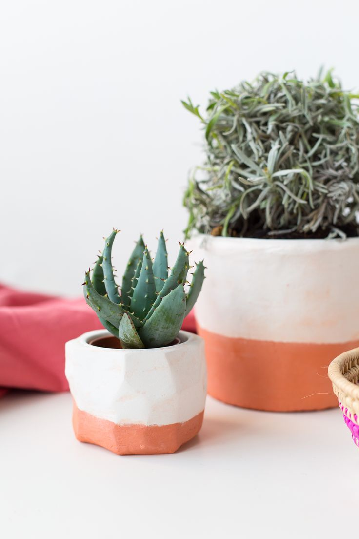 Make your own DIY Clay Cocktail Garden Planters to grow herbs and flowers that will take your cocktails to the next level!