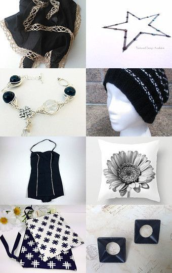 Black and White by Rhian on Etsy--Pinned with TreasuryPin.com