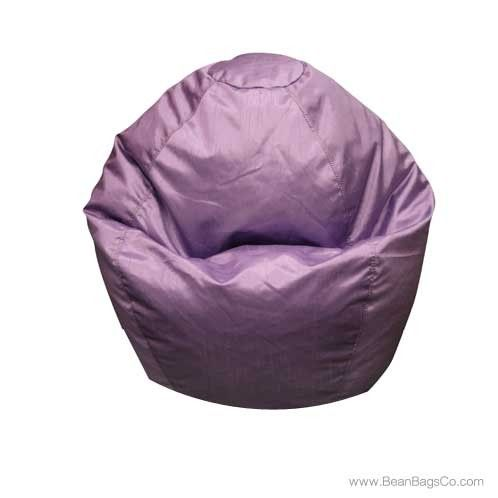 Classic Small Bean Bag PVC Vinyl - Lilac | ON SALE: $54.99 | Free Shipping - No Sales Tax.