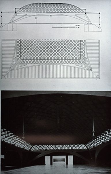 Exposition HallTurin Pier Luigi Nervi,1948-1950