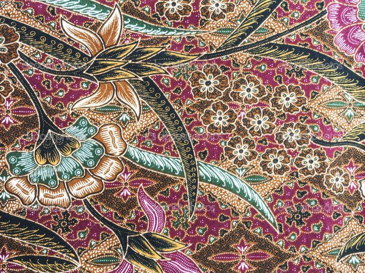 Beautiful-indonesia-floral-batik-patterns