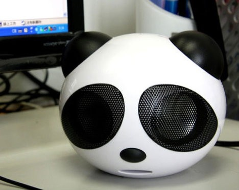 Panda USB speakers<3