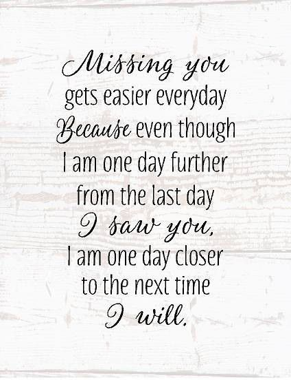 Missing You Wood Sign or Canvas Wall Art Sympathy Gift, Mom Memorial, Dad Memorial, Loved One