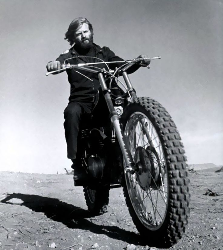 I had a bike almost just like this back in the day. I wasn't as Cool as Robert Redford though I probably thought I was :)