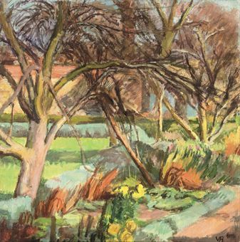 vanessa bell, the garden at charleston