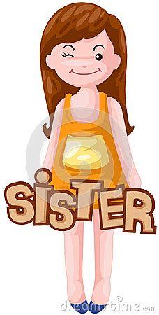 Resultado de imagen de sister clipart