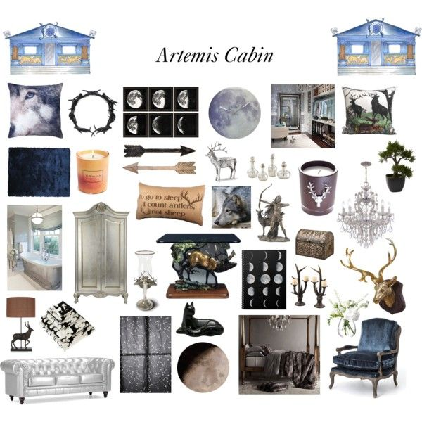144 best camp half blood images on pinterest camp half for Artemis decoration