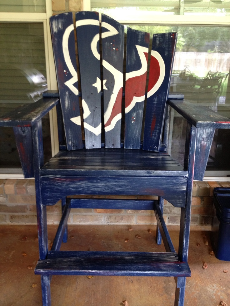 Houston Texans King Chair I like the idea... But cleaner lines