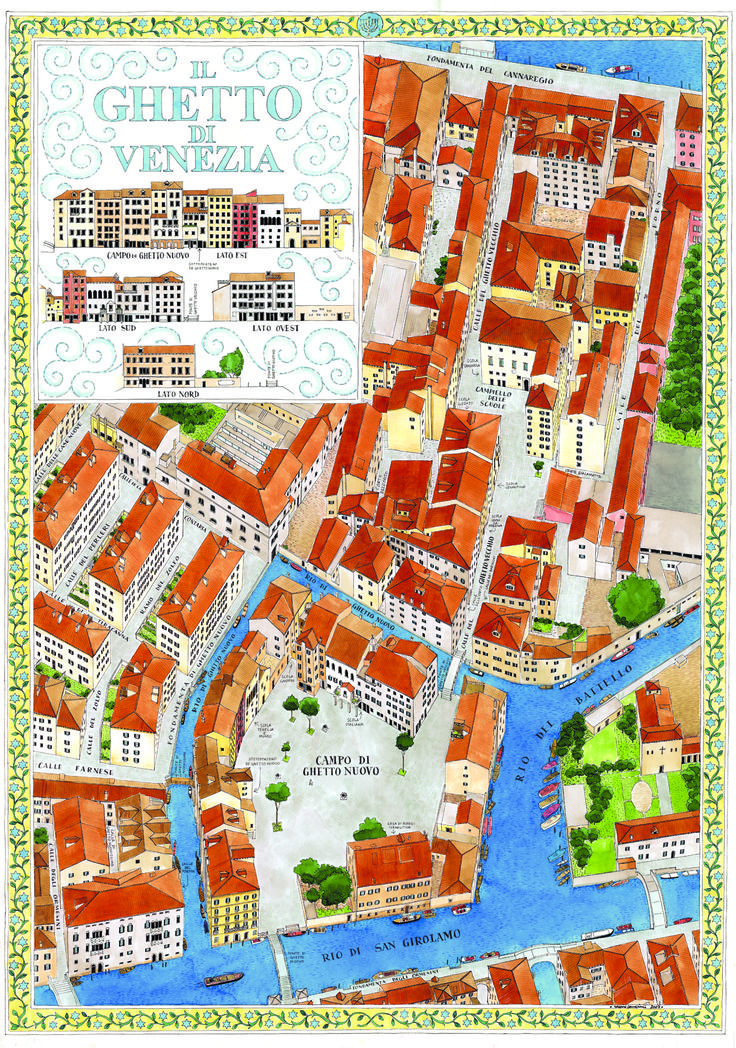 The old Jewish ghetto of Venezia. This is where the term ghetto originated. Shylock would have lived here.