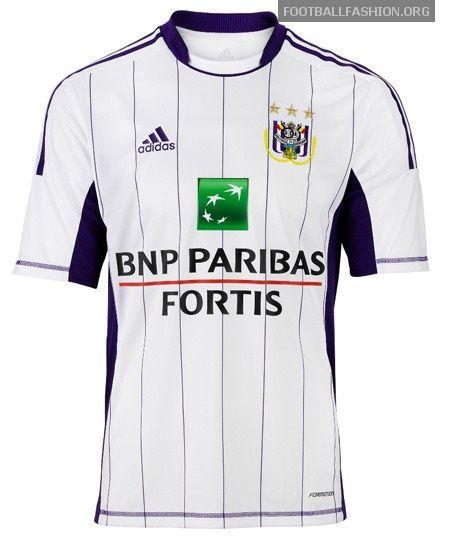 RSC Anderlecht adidas 2012/13 Away Kit