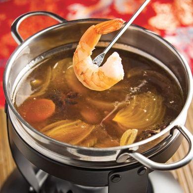 Bouillon asiatique pour fondue