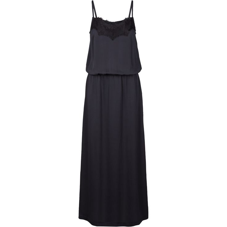 Joyce dress Lovely maxi dress with lace detail in front and back at neckline. Often styled with the Jones bumber jacket to get a more downtoned look. Black Swan Fashion SS17