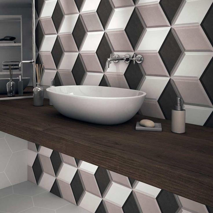 best 25+ 3d tiles ideas only on pinterest | 3d wall, geometric