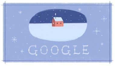 Buone Feste Google Doodle: terzo omaggio di Big G al Natale senza nominarlo