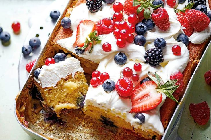 WE get it, your plans for the summer consist solely of sipping on coolers by the pool, but why deny yourself the joy of a sweet treat? These tray bakes from Ravinder Bhogal are about to become your…