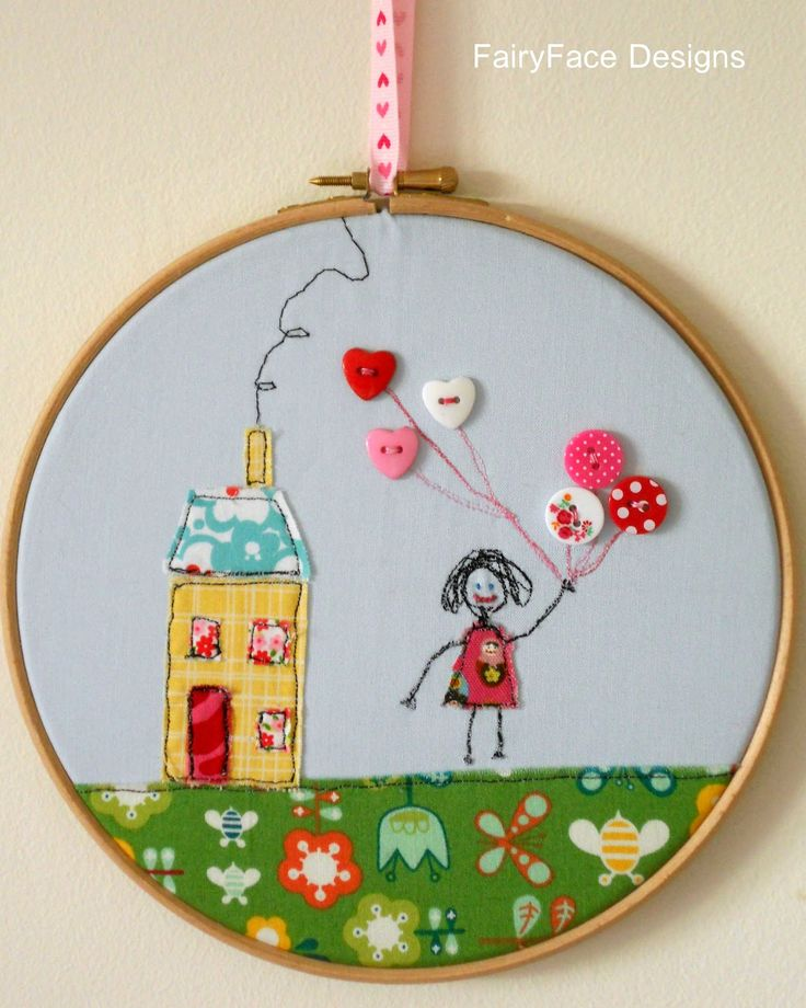 freestyle embroidery hoop tutorial - fairyface designs