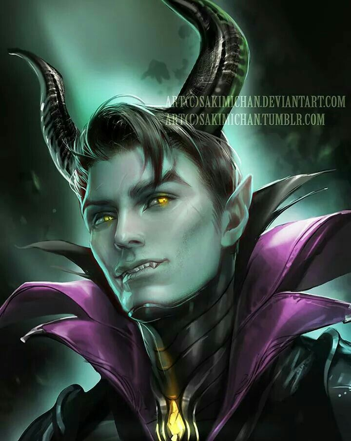 Sakimichan's male maleficent