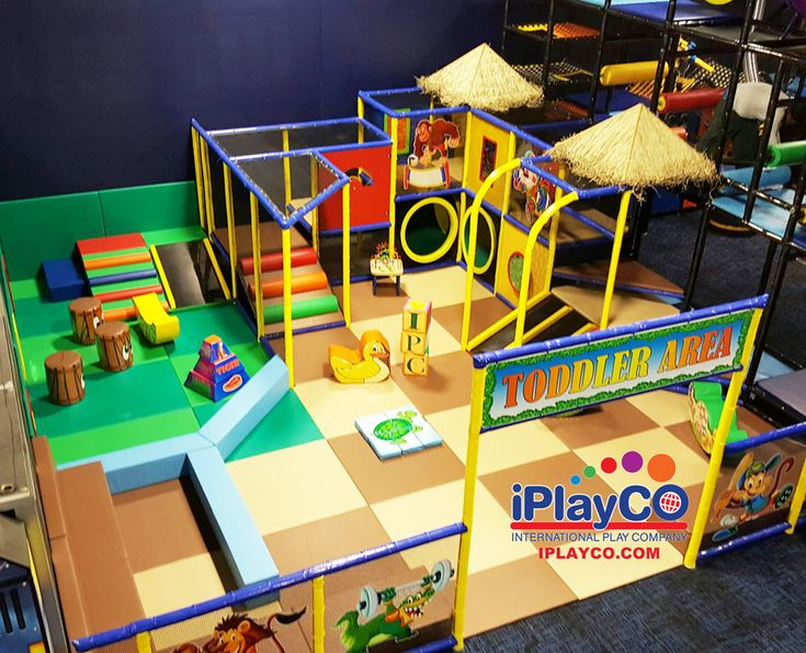 Great toddler play area for a fitness center.  We have been creating fun since 1999.  Custom designed to meet any theme or budget.  Play structures are great for fitness centers and recreation centers.  Let the kids have fun while the parents work out. #WeBuildFun for all ages. We design, manufacture and install worldwide.   We are an active IHRSA member and AYP partner.  #IHRSA2017  #weBUILDfun