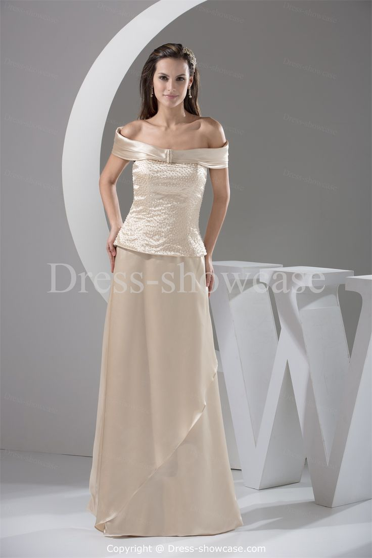 ivory mother of the bride dress with sleeves