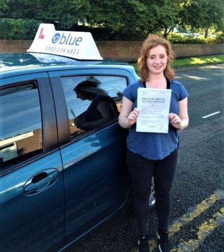 Great result for Ciara McCoy who passed her driving test in Reading, Berkshire. - https://www.blueschoolofmotoring.com/blog/2017/10/05/great-result-for-ciara-mccoy-who-passed-her-driving-test-in-reading-berkshire/ - https://www.blueschoolofmotoring.com/blog/2017/10/05/great-result-for-ciara-mccoy-who-passed-her-driving-test-in-reading-berkshire/ - https://www.blueschoolofmotoring.com/driving-lessons-instructor-img/Bracknell-Driving-Lessons-for-Ciara-McCoy-e1507227474569.jpg -