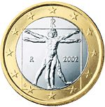Euro Central Bank web site, with images of all the member countries' coin designs.