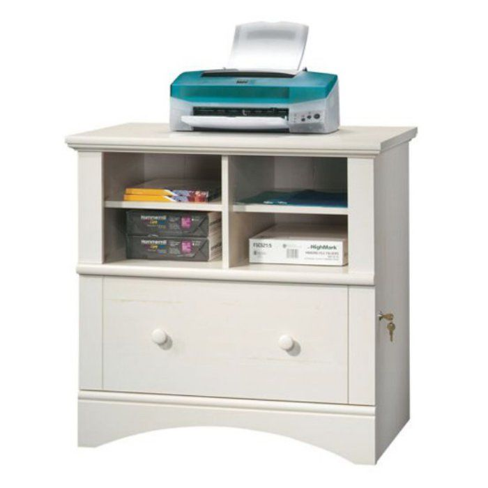 Sauder Harbor View Lateral File Cabinet Antique White In 2020 Filing Cabinet Drawer Filing Cabinet Online Furniture